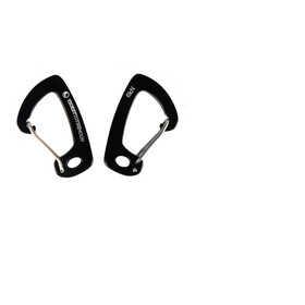 Ticket to the Moon Lightweight Carabiner 6kN Pair 4,5x2,6cm